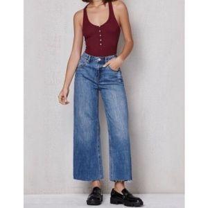Pacsun wide leg denim jeans